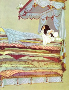Illustration from 'Deans Gift Book of Fairy Tales' illustrated by Janet and Anne Grahame Johnstone