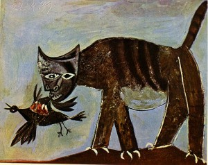 Pablo Picasso 'Cat Catching A Bird' (1939)
