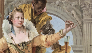 Detail of Tiepolo's Banquet of Cleopatra